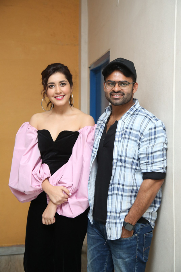Prathi Roju Pandage Movie 2nd Single Song Launch Photos