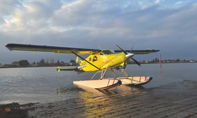 A 62 Year Old Seaplane Re-Fitted With A Fully Electric 750 Horsepower Motor