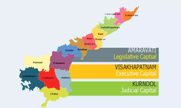 Image result for jagan three capitals
