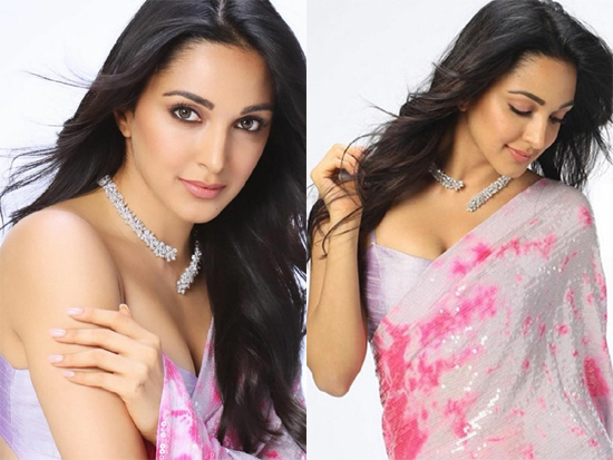 Kiara Advani In Saaree Photos