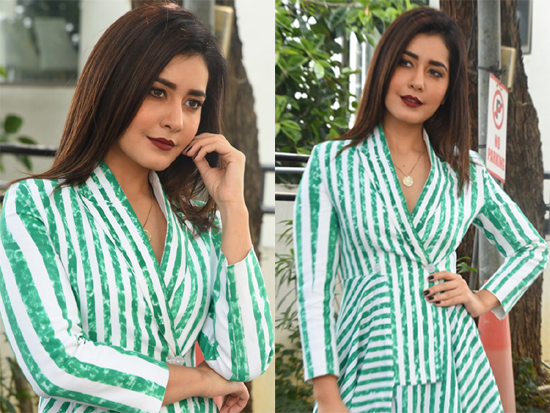 Raashi Khanna Interview Pics