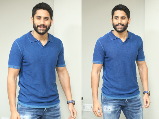 Nagachaitanya Interview Photos