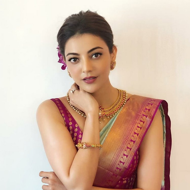 Actress Kajal Aggarwal Glamourous Poses