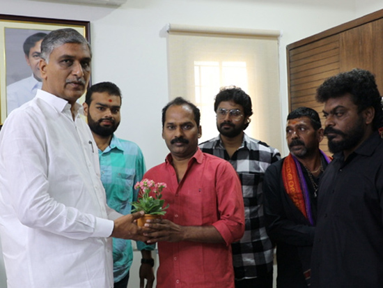 Harish Rao Launched Motion Poster of Poster Movie