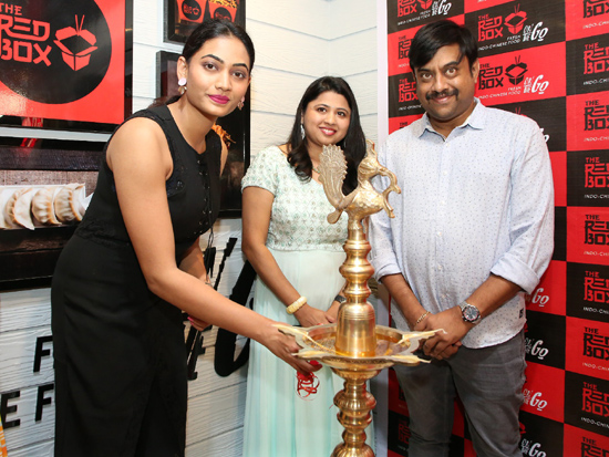 Actress Spandana Palli Inaugurates The Red Box Indo Chinese Food Takeaway