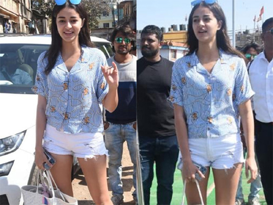 Ananya Panday in Casual Look Photos