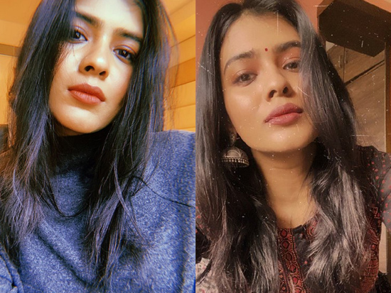 Gorgeous Beauty Hebah Patel Trendy Clicks