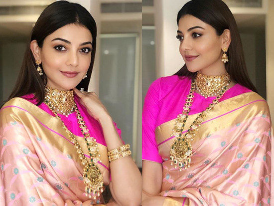 Kajal Aggarwal At Khazana Jewelley Store Launch