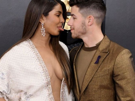 Priyanka Chopra and Nick Jonas At Grammy Awards Photos