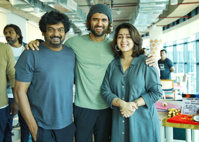 Vijay Devarakonda Fighter Movie Opening