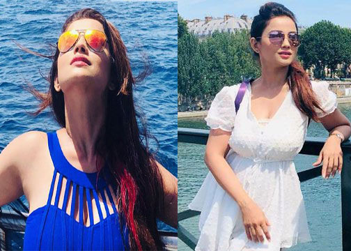 Adaa Khan travel photos