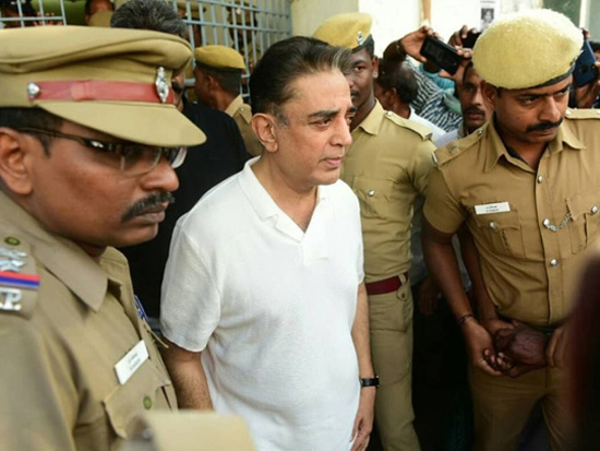 Kamal Haasan And Shankar At Hospital