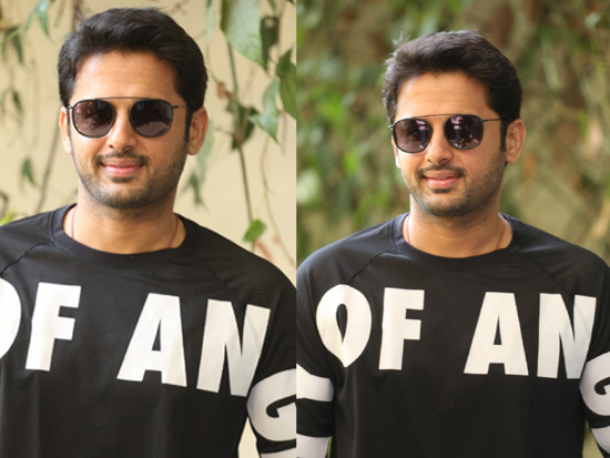 Nithiin Interview Clicks