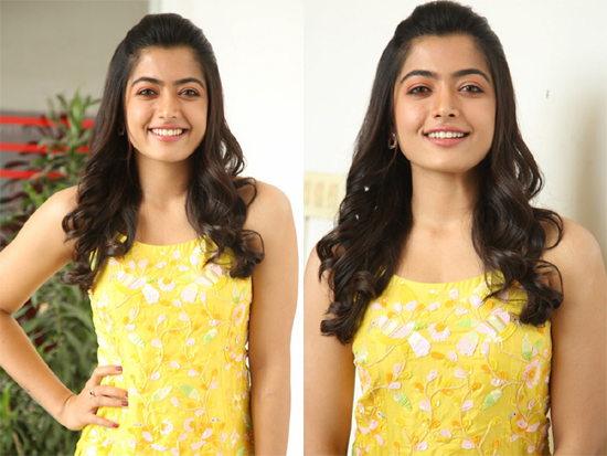 Rashmika Mandanna Interview Photos
