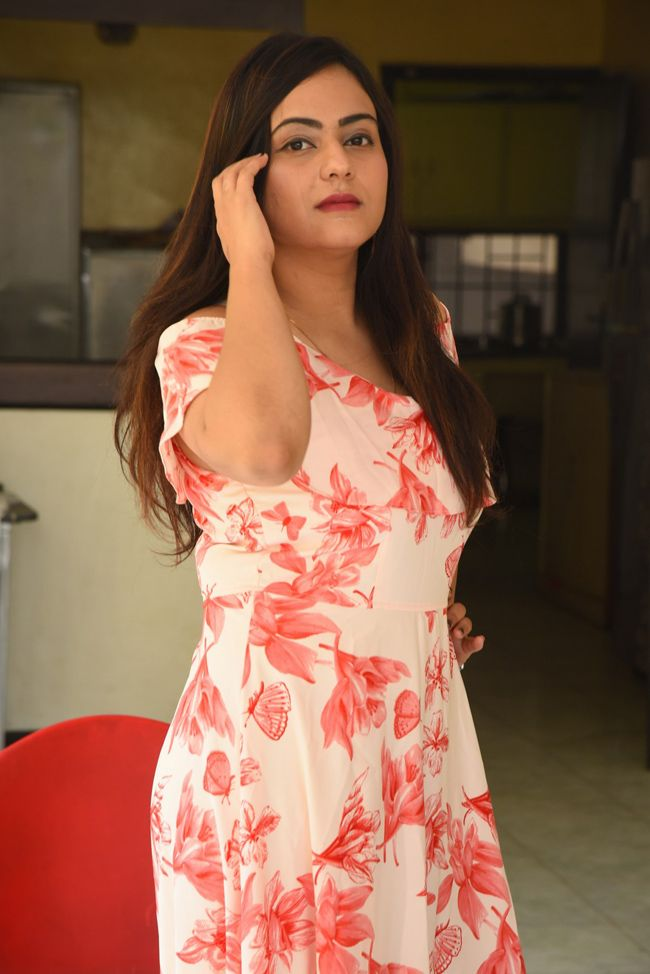 Priyansha Dubey Hellow Medam Movie Press Meet