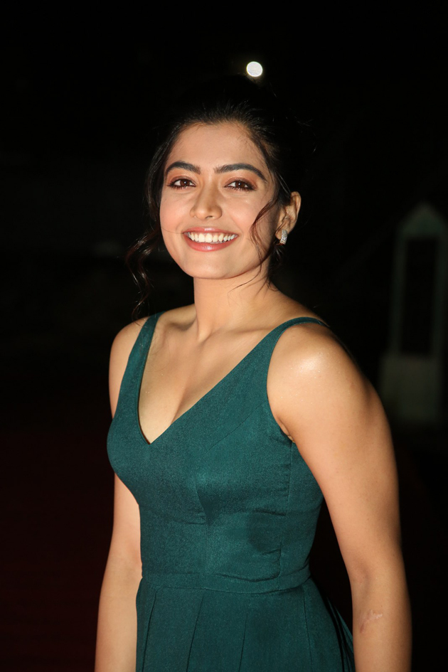 Rashmika Mandanna At Bheeshma Pre Release Event Photos Photogallery Page 1