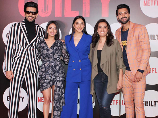 Bollywood Celebs Attended Guilty Screening