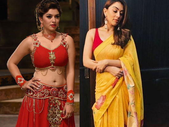 Hansika Motwani New Gallery Looks