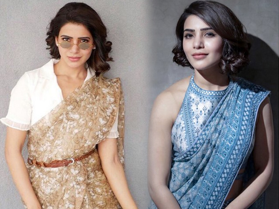 Samantha Gorgeous Saree Looks
