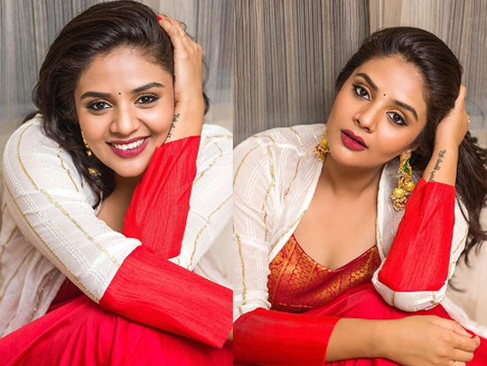 Sreemukhi Latest Insta Clicks