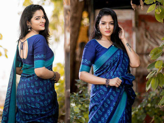 Actress Chaithu Saree Pics