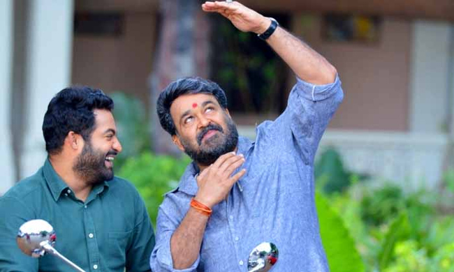 Mohan Lal in NTR And Trivikram Movie