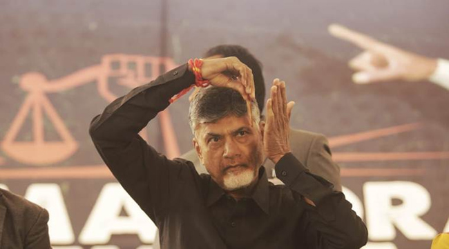 TDP Planning For Dharnas in Andhra Tomorrow