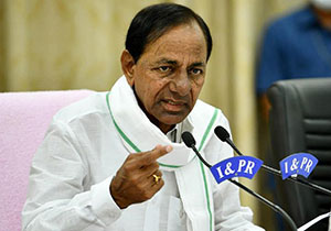 A Good News For Telangana People Will Be Announced Says CM KCR