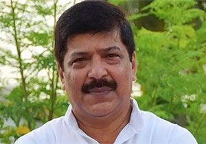 BJP MLA who went to Corona Center What happened after that