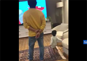 Charan steps in with his niece