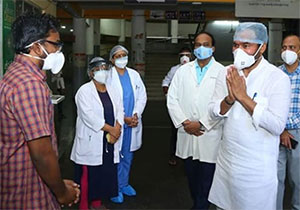 Kishan Reddy Visited Gandhi And TIMS hospital