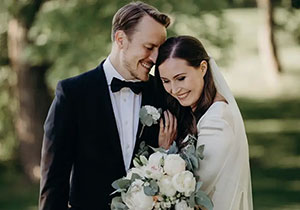 Finland Prime minister Marriage Completed