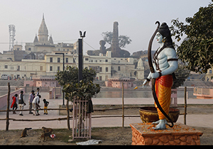 There are 5 controversies over the worship of Rama Mandir