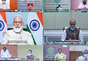 PM Modi called for Video conference with CMs to discuss pandemic situations