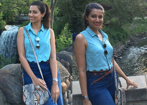 Hamsa Nandini Latest stills