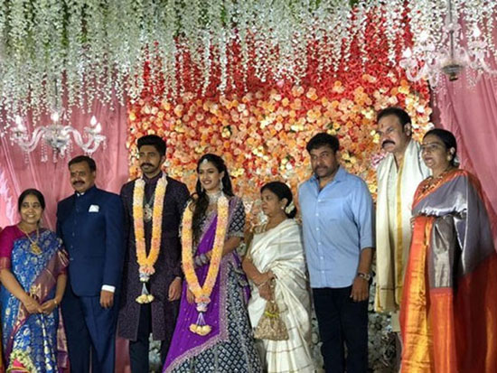Mega Daughter Niharika Engagement Pics