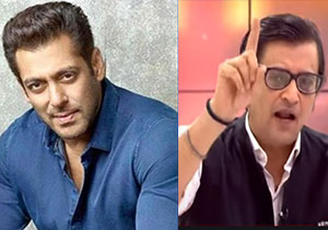 Salman Khan Fans Fired On Arnab Goswami