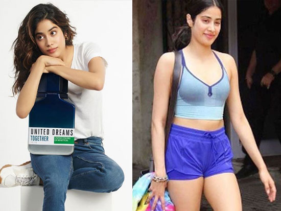 Janhvi Kapoor Adorable Insta Wallpapers