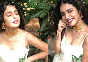 Priya Prakash Varrier Latest Stunning Pose