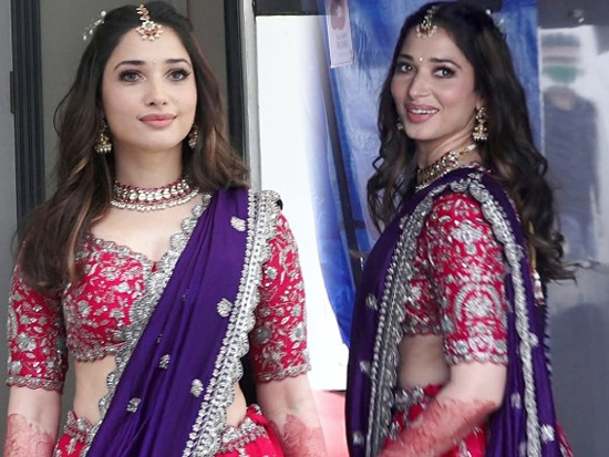 Tamannaah Bhatia In Traditional Avatar