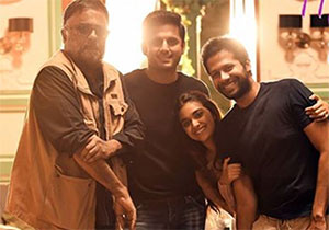 Nithin Is Ready For balance Shooting of Rang De