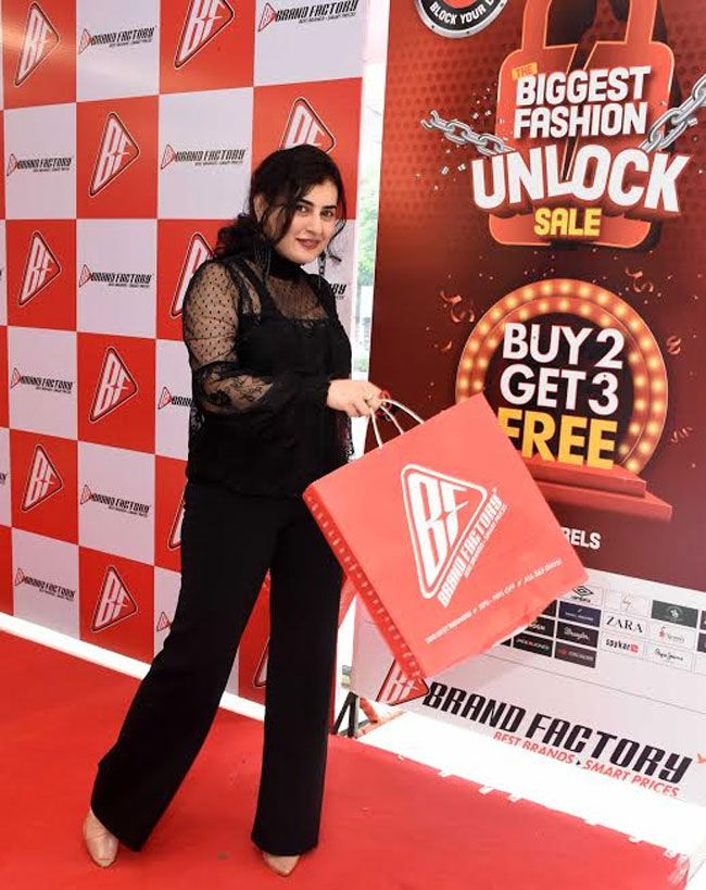 Actress Archana Launches Brand Factory