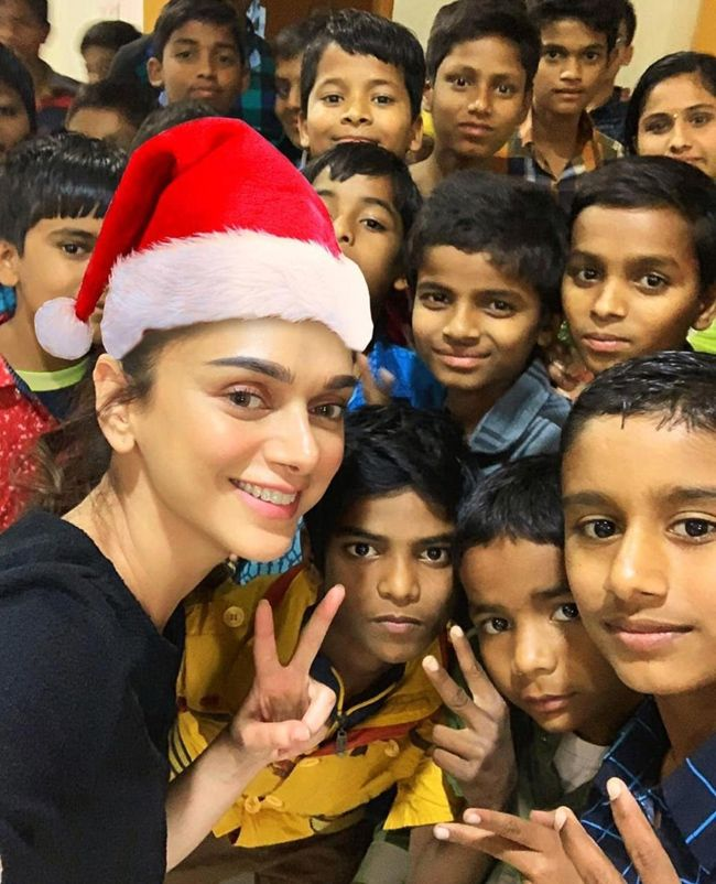 Aditi Rao Hydari Throwback Memories With Kids
