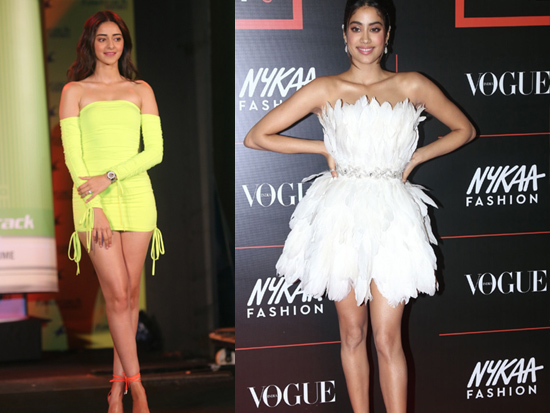 Ananya Pandey and Jhanvi Kapoor Latest Gallery