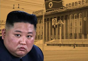 North Korea new Issue China yellow dust into the country through the desert