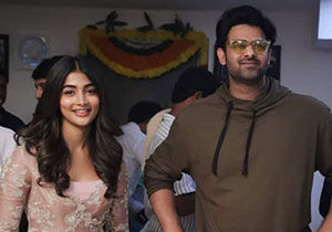Pooja Hegde on shooting for Radhe Shyam with Prabhas in Italy