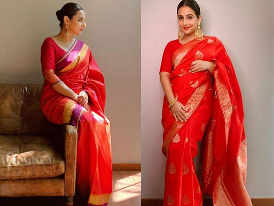 Vidya Balan Stuns You In Saree Looks