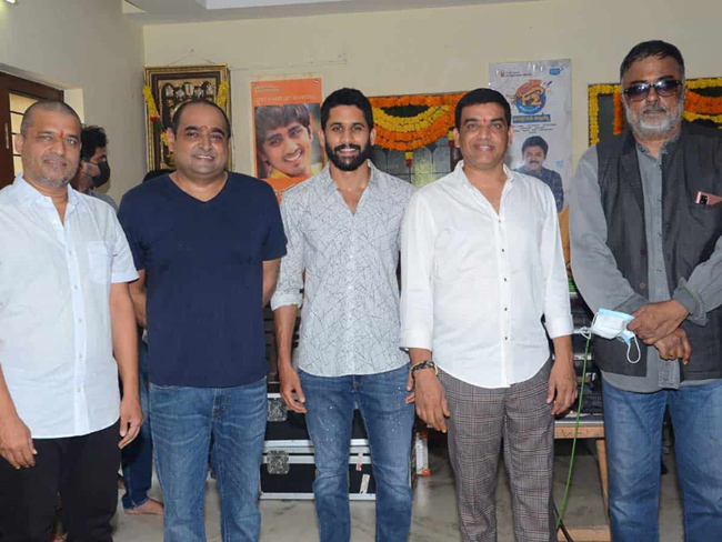 Vikram K Kumar With Naga Chaitanya Movie Launch