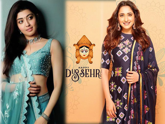 Celebrities celebrates Dussehra