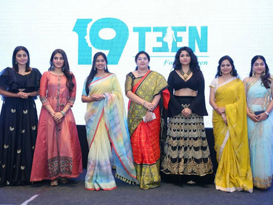 Tollywood Celebs launched 19Teen Womens Brand